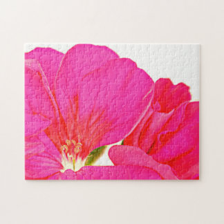 Pink Flower Jigsaw Puzzles