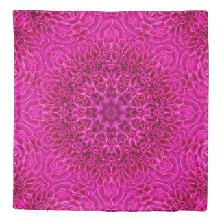 Pink Flower Kaleidoscope    Duvet Covers