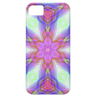 Pink flower kaleidoscope pattern. Very pretty colo Case For The iPhone 5