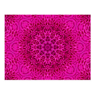 Pink Flower Kaleidoscope  Postcards