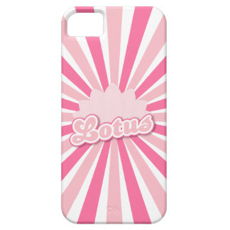 Pink Flower Lotus iPhone 5 Cover