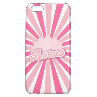 Pink Flower Lotus iPhone 5C Case