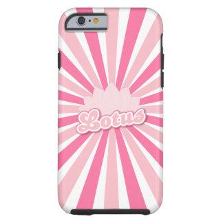 Pink Flower Lotus Tough iPhone 6 Case