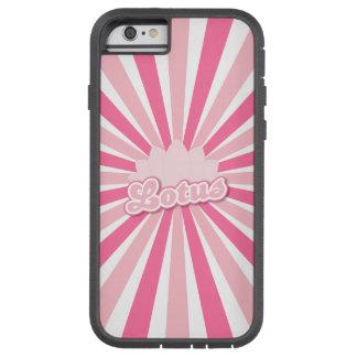Pink Flower Lotus Tough Xtreme iPhone 6 Case