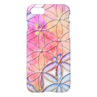 Pink Flower Of Life IPhone 6 Case