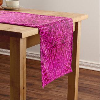 Pink Flower Pattern  Kaleidoscope Table Runners