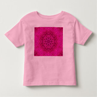 Pink Flower Pattern Kids Shirts, many styles Toddler T-shirt