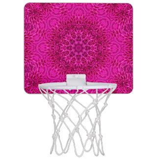 Pink Flower Pattern  Mini Basketball Goal Mini Basketball Hoop