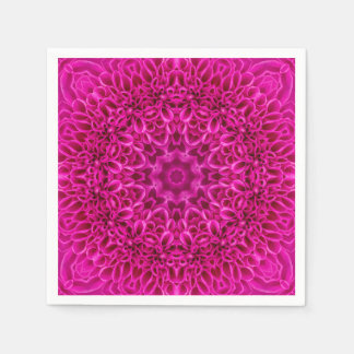 Pink Flower Pattern   Paper Napkins, 5 styles Disposable Napkin