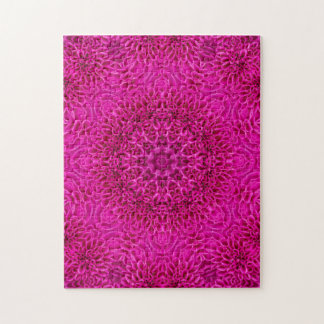 Pink Flower Pattern   Puzzle with Gift Box
