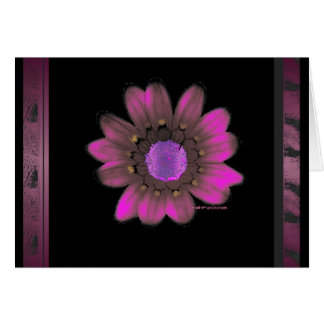 Pink Flower Power Card