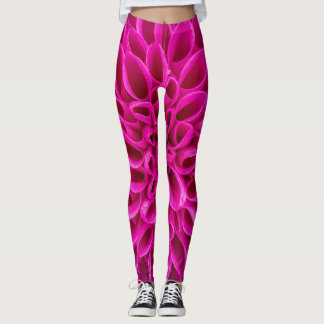 Pink Flower Power! Leggings