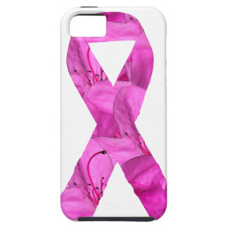 Pink Flower Ribbon iPhone 5 Cases