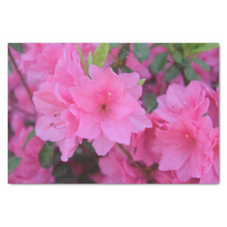 Pink Flower Tissue Paper