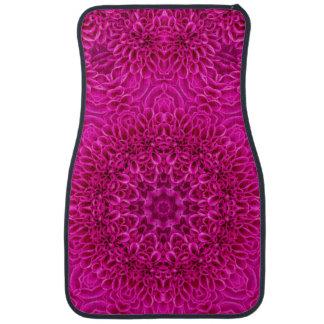 Pink Flower Vintage   Car Floor Mats Front