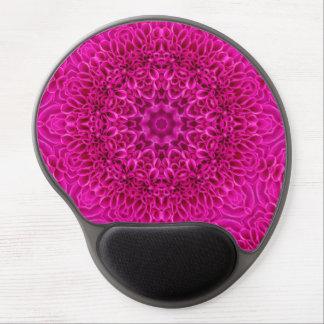 Pink Flower Vintage Kaleidoscope    Gel Mousepad