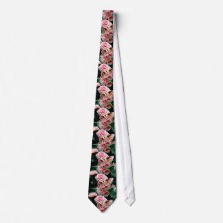 Pink Flowering Begonia Tie