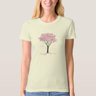 Pink Flowering Dogwood Tree T-Shirt