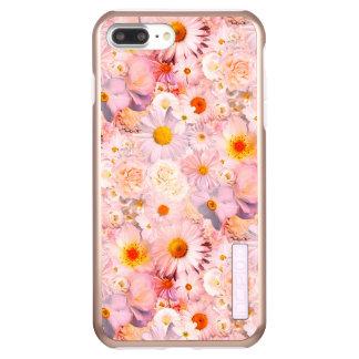 Pink Flowers Bouquet Floral Wedding Bridal Spring Incipio DualPro Shine iPhone 8 Plus/7 Plus Case