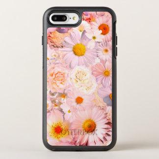 Pink Flowers Bouquet Floral Wedding Bridal Spring OtterBox Symmetry iPhone 8 Plus/7 Plus Case