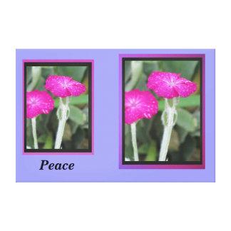 Pink Flowers Canvas Prints