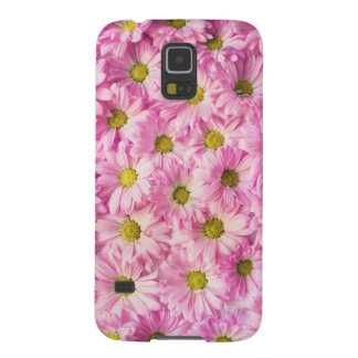 Pink Flowers Case For Galaxy S5