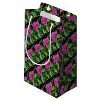 Pink Flowers Gift Bag