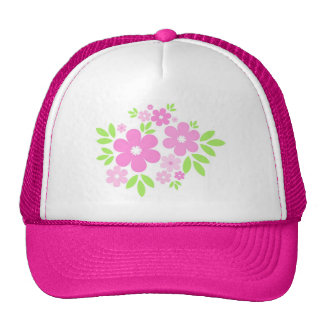 Pink flowers - Hat