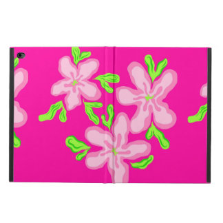 Pink Flowers Illustration Pastel Floral Pattern Powis iPad Air 2 Case