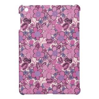 Pink Flowers iPad Mini Cover