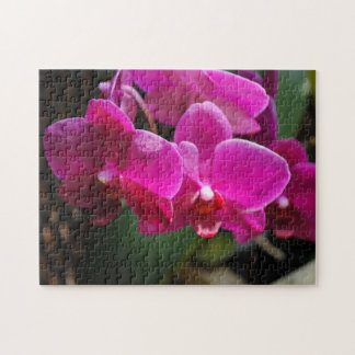 Pink Flowers Jigsaw Puzzle