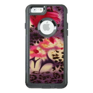 Pink Flowers & Leopard Design OtterBox iPhone 6/6s Case