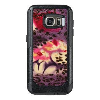 Pink Flowers & Leopard Design OtterBox Samsung Galaxy S7 Case
