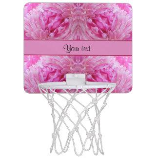 Pink Flowers Mini Basketball Hoop