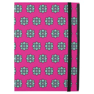 "Pink flowers pattern iPad pro 12.9"" case"