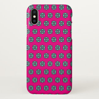 Pink flowers pattern iPhone x case