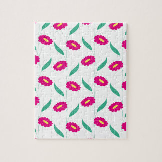 Pink Flowers Puzzles