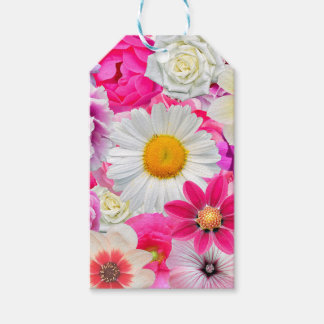 Pink flowers_ Sanchez Glory Gift Tags