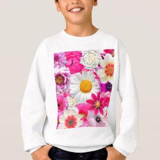 Pink flowers_ Sanchez Glory Sweatshirt