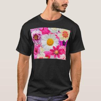 Pink flowers_ Sanchez Glory T-Shirt