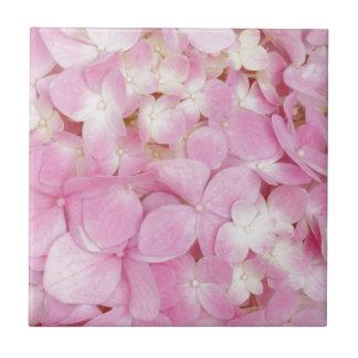 Pink Flowers Spring Tile