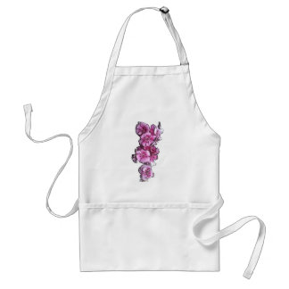 Pink Flowers Standard Apron