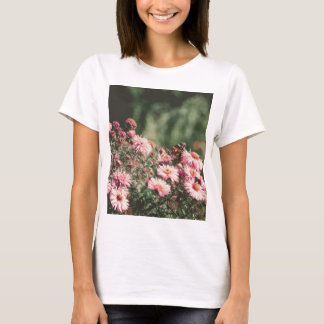 Pink Flowers with Butterfly Filtered 4 T-Shirt