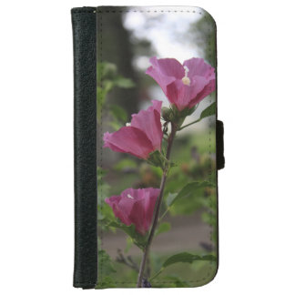 Pink Flowers with green leaves Phone Case