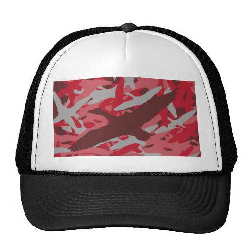 Pink Flying Duck Camo Hats