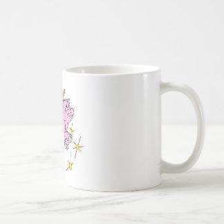 Pink Flying Pig #003 Coffee Mug