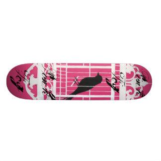 Pink Fog skateboard