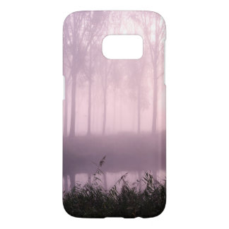 Pink foggy morning samsung galaxy s7 case
