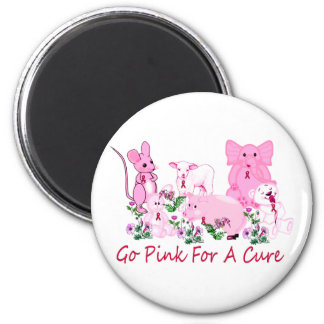 Pink For A Cure Magnet