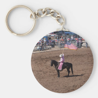 Pink for Breast Cancer Awareness Keychain